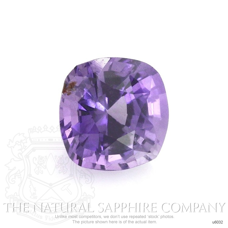 Natural Untreated Purple Sapphire U6032 Image