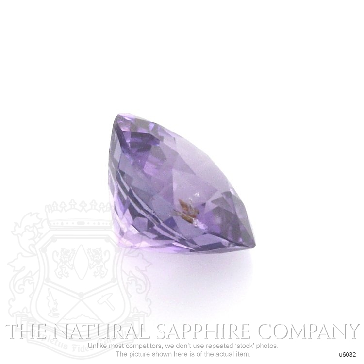 Natural Untreated Purple Sapphire U6032 Image 3