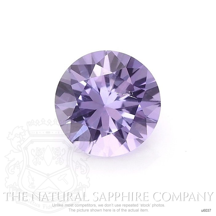 Natural Untreated Purple Sapphire U6037 Image