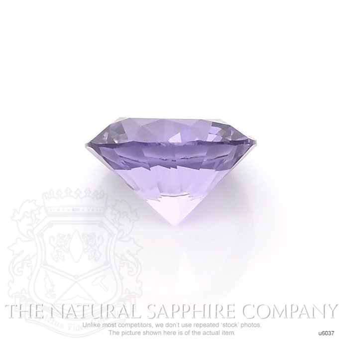 Natural Untreated Purple Sapphire U6037 Image 2