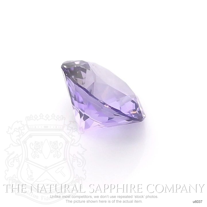 Natural Untreated Purple Sapphire U6037 Image 3