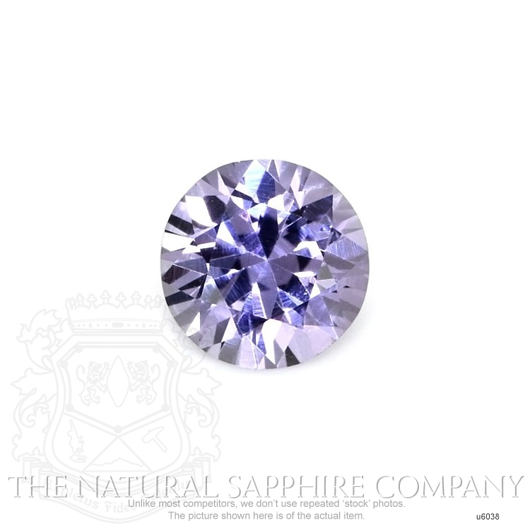 Natural Untreated Purple Sapphire U6038 Image