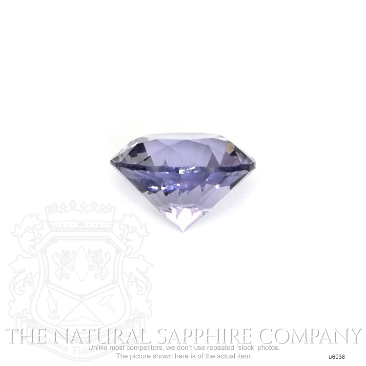 Natural Untreated Purple Sapphire U6038 Image 2