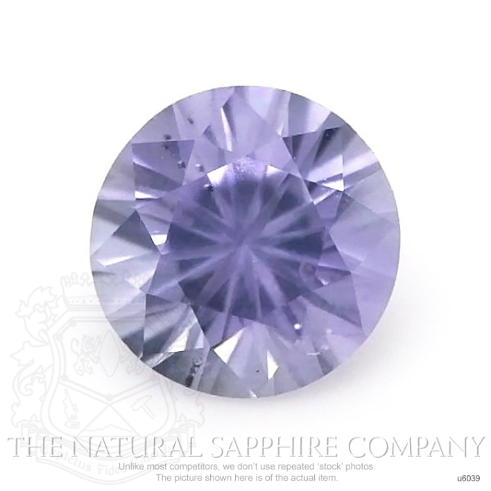 Natural Untreated Purple Sapphire U6039 Image