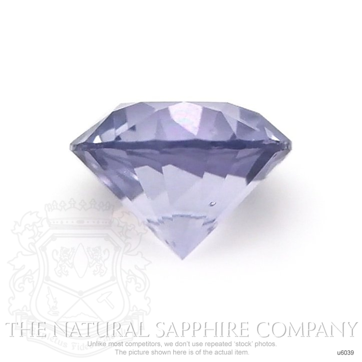 Natural Untreated Purple Sapphire U6039 Image 2