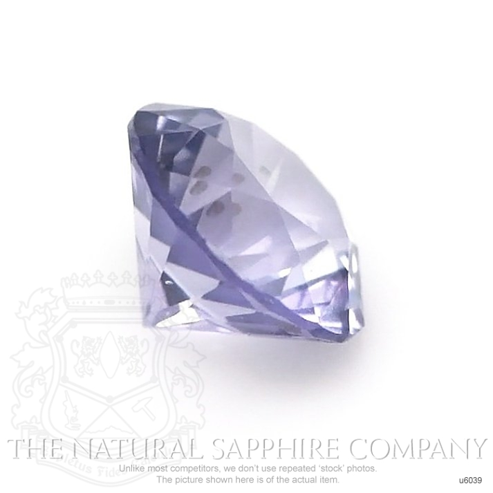 Natural Untreated Purple Sapphire U6039 Image 3