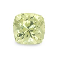 1.65ct Ceylon Cushion Greenish Yellow Sapphire - U6042