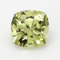 1.79ct Ceylon Cushion Greenish Yellow Sapphire - U6045