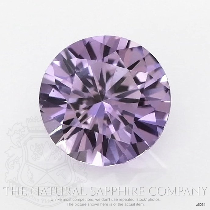 Natural Untreated Purple Sapphire U6061 Image