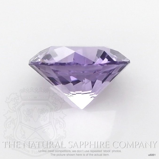 Natural Untreated Purple Sapphire U6061 Image 2