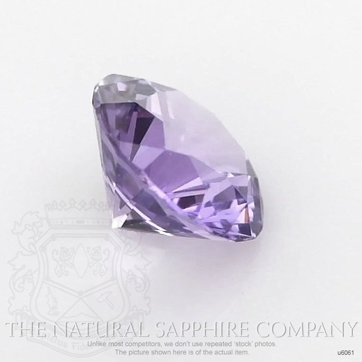 Natural Untreated Purple Sapphire U6061 Image 3
