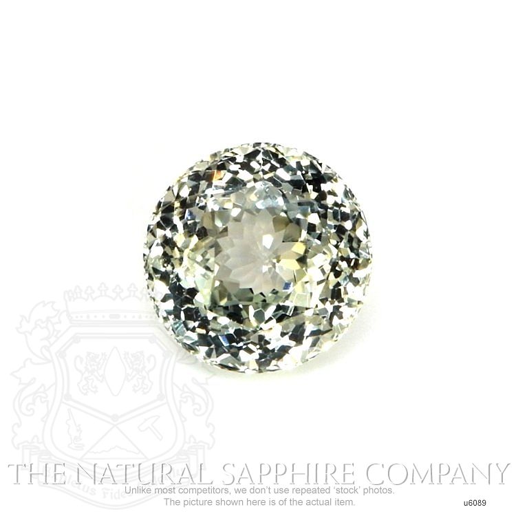 Natural Untreated Greenish Yellow Sapphire U6089 Image