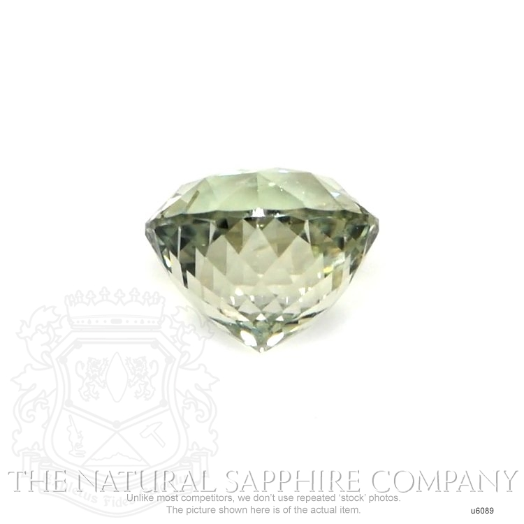 Natural Untreated Greenish Yellow Sapphire U6089 Image 2