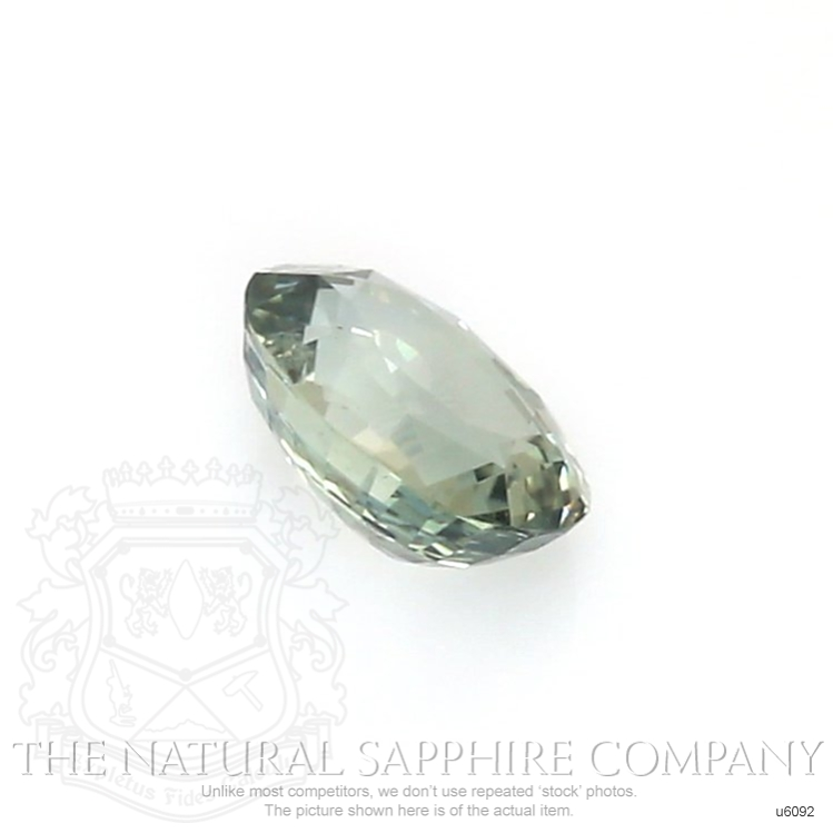 Natural Untreated Yellowish Green Sapphire U6092 Image 3