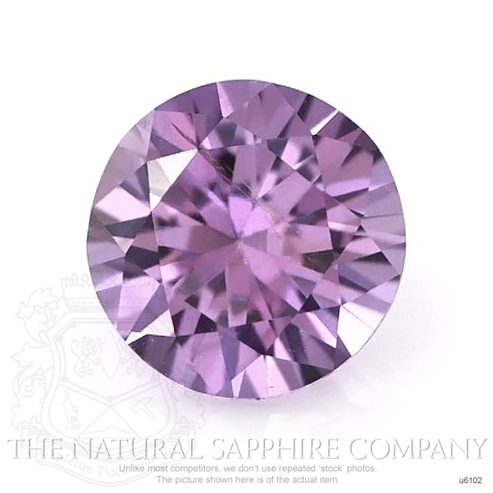 Natural Untreated Purple Sapphire U6102 Image