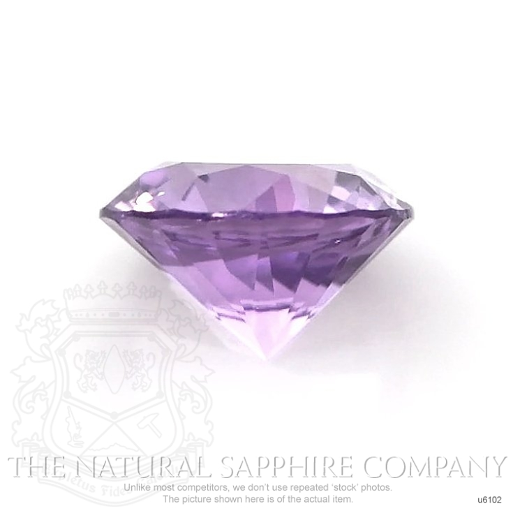 Natural Untreated Purple Sapphire U6102 Image 2
