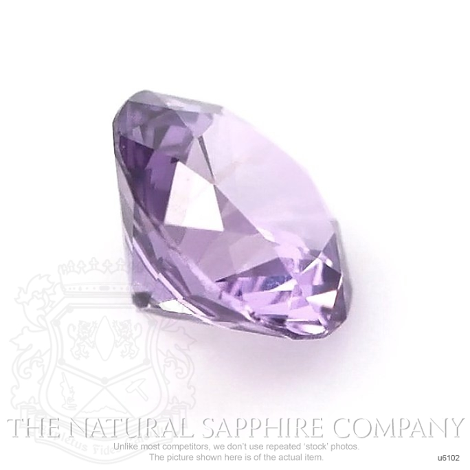 Natural Untreated Purple Sapphire U6102 Image 3