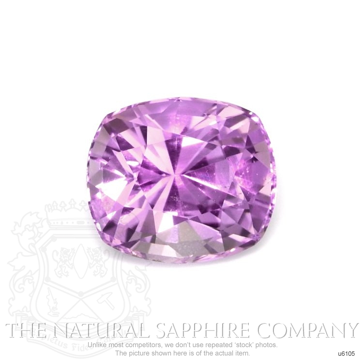 Natural Untreated Purple Sapphire U6105 Image