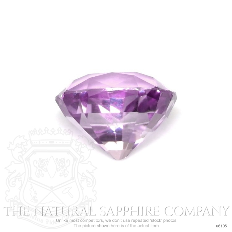 Natural Untreated Purple Sapphire U6105 Image 2