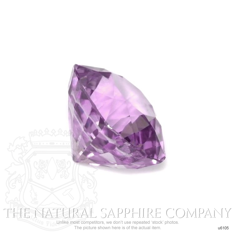 Natural Untreated Purple Sapphire U6105 Image 3