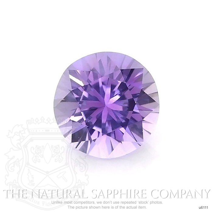Natural Untreated Purple Sapphire U6111 Image