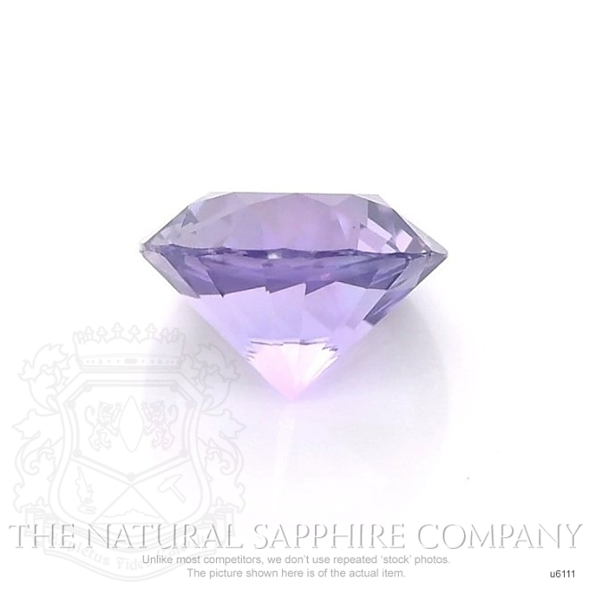 Natural Untreated Purple Sapphire U6111 Image 2
