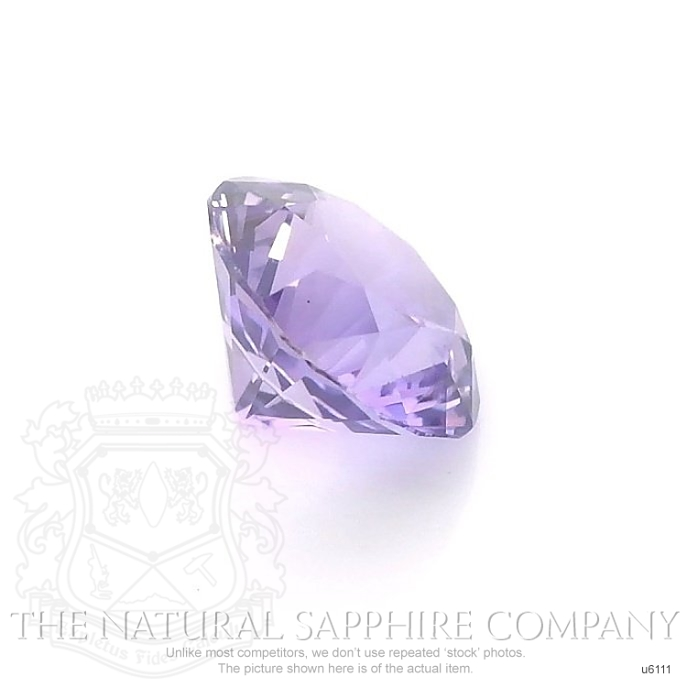 Natural Untreated Purple Sapphire U6111 Image 3