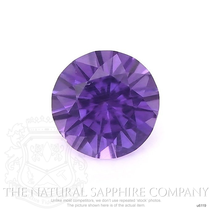 Natural Untreated Purple Sapphire U6119 Image