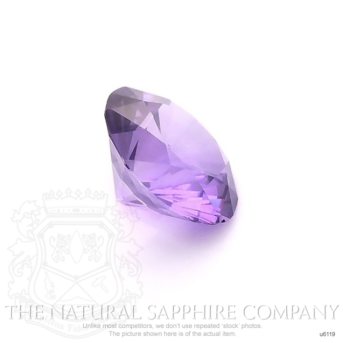 Natural Untreated Purple Sapphire U6119 Image 3