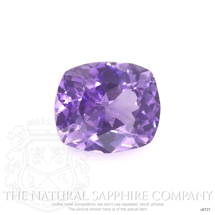 Natural Untreated Purple Sapphire U6121 Image