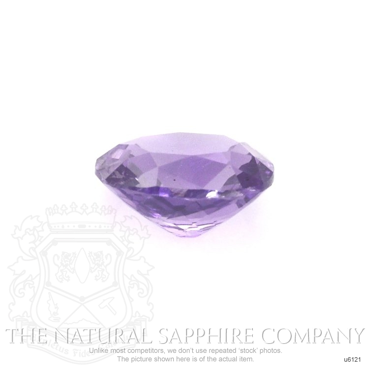 Natural Untreated Purple Sapphire U6121 Image 2
