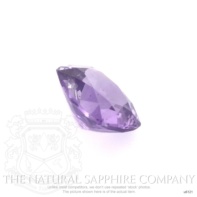 Natural Untreated Purple Sapphire U6121 Image 3