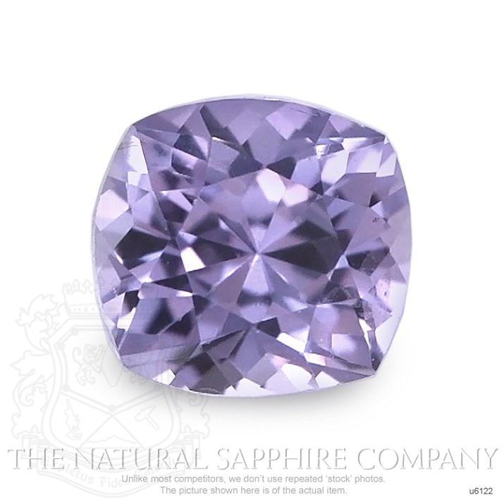 Natural Untreated Purple Sapphire U6122 Image
