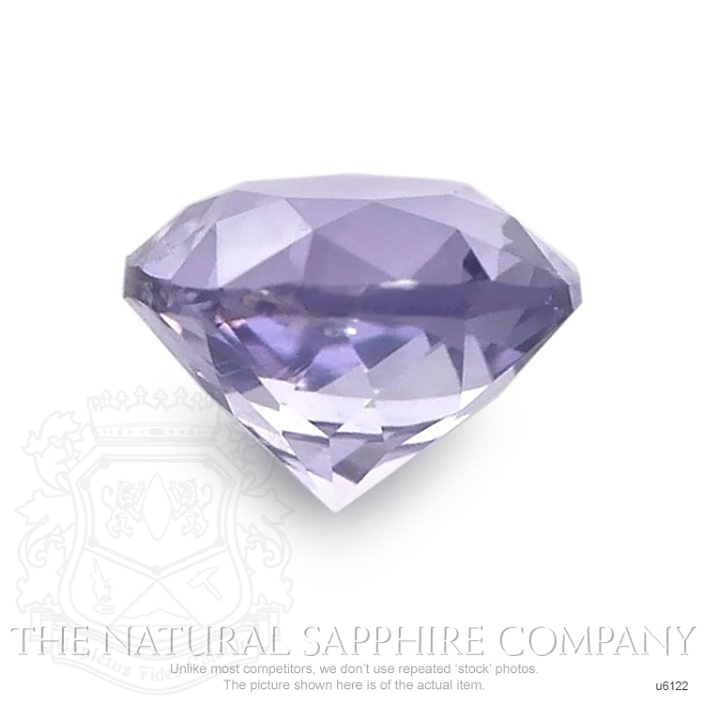 Natural Untreated Purple Sapphire U6122 Image 2