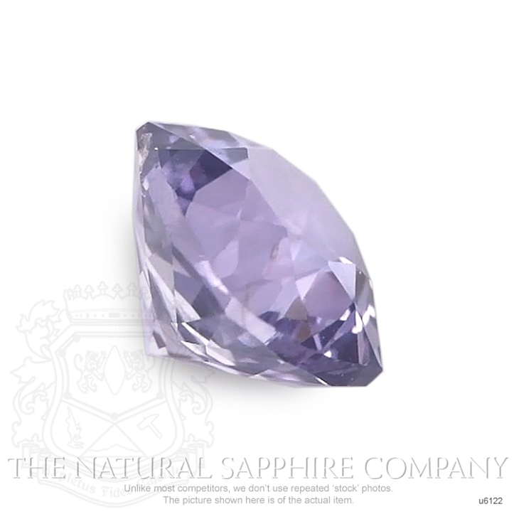 Natural Untreated Purple Sapphire U6122 Image 3