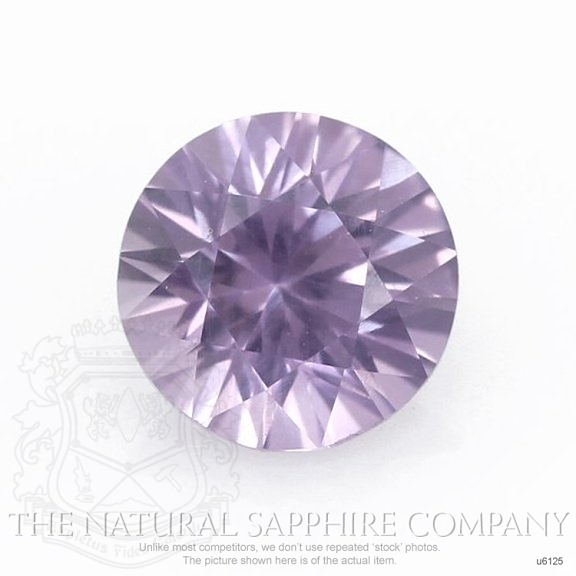 Natural Untreated Purple Sapphire U6125 Image