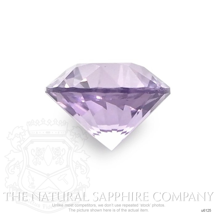Natural Untreated Purple Sapphire U6125 Image 2