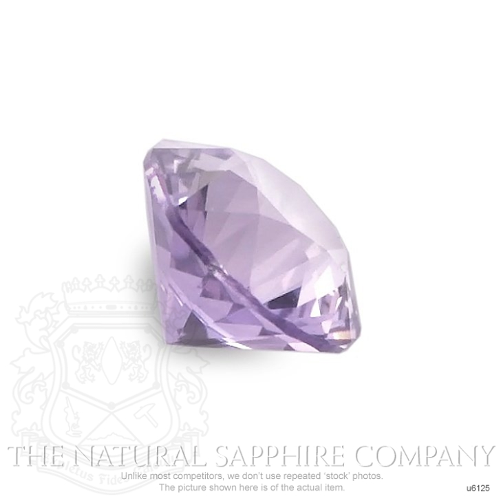 Natural Untreated Purple Sapphire U6125 Image 3