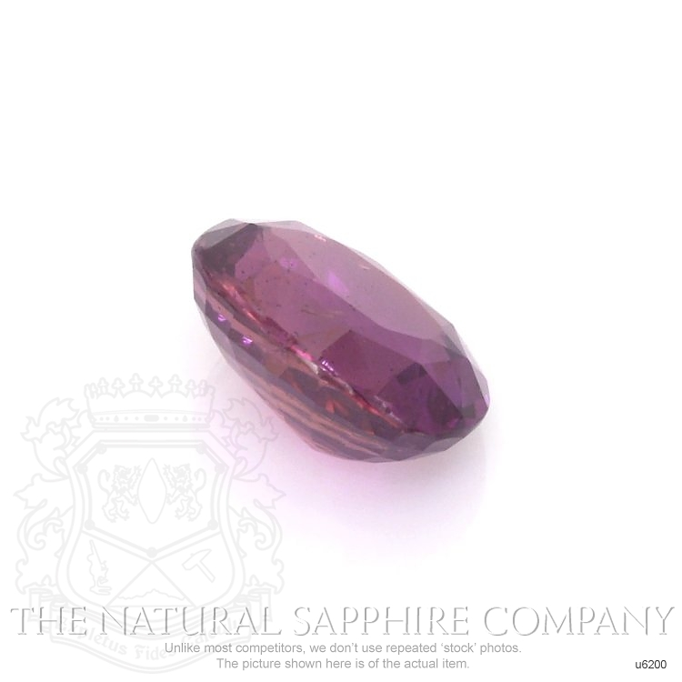 Natural Untreated Pinkish Purple Sapphire U6200 Image 3