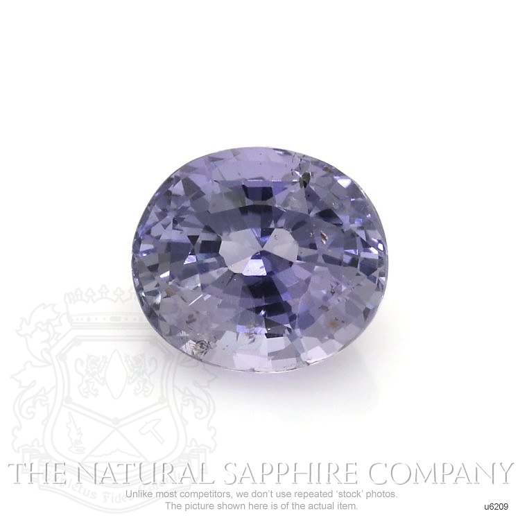 Natural Untreated Bluish Purple Sapphire U6209 Image