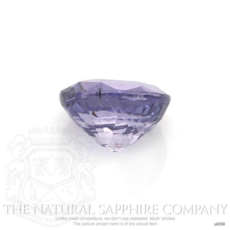 Natural Untreated Bluish Purple Sapphire U6209 Image 2