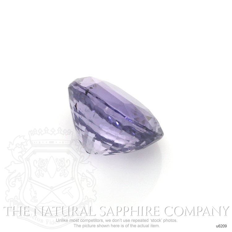Natural Untreated Bluish Purple Sapphire U6209 Image 3