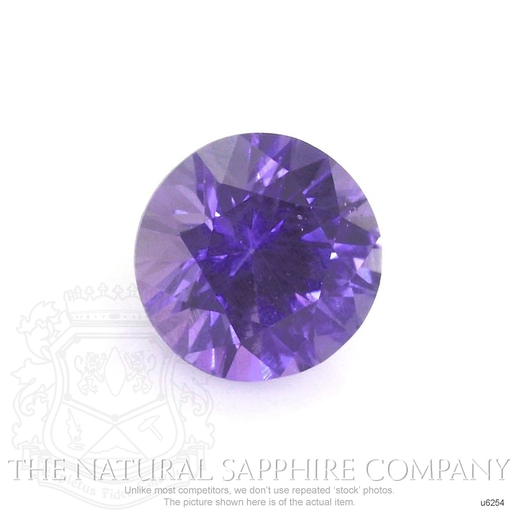 Natural Untreated Purple Sapphire U6254 Image