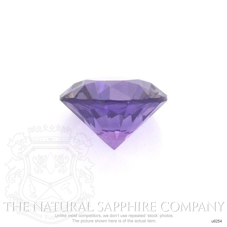 Natural Untreated Purple Sapphire U6254 Image 2