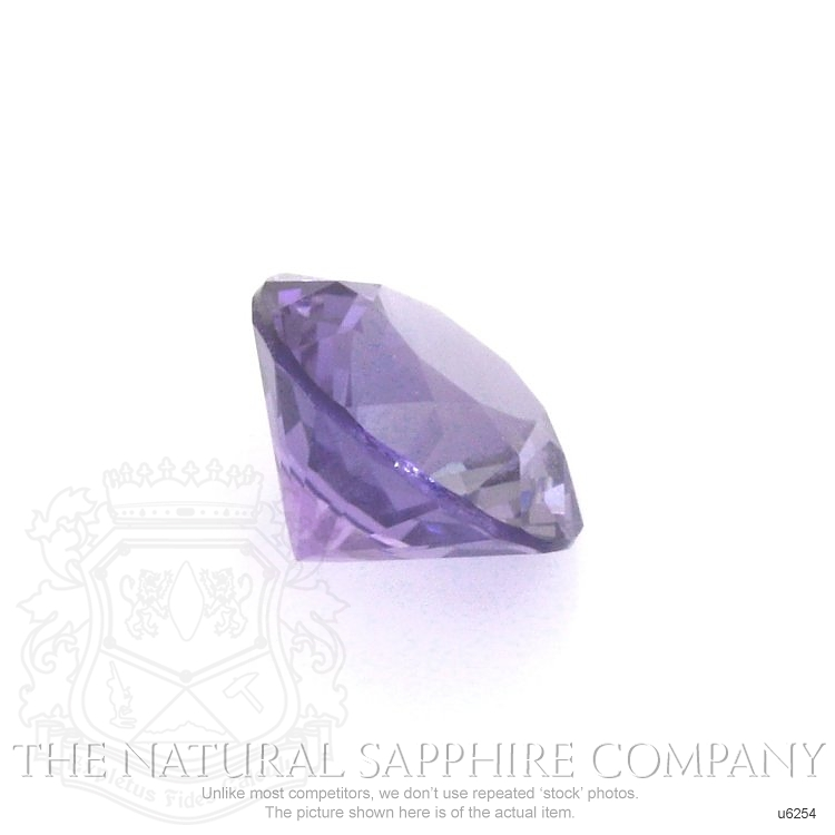 Natural Untreated Purple Sapphire U6254 Image 3