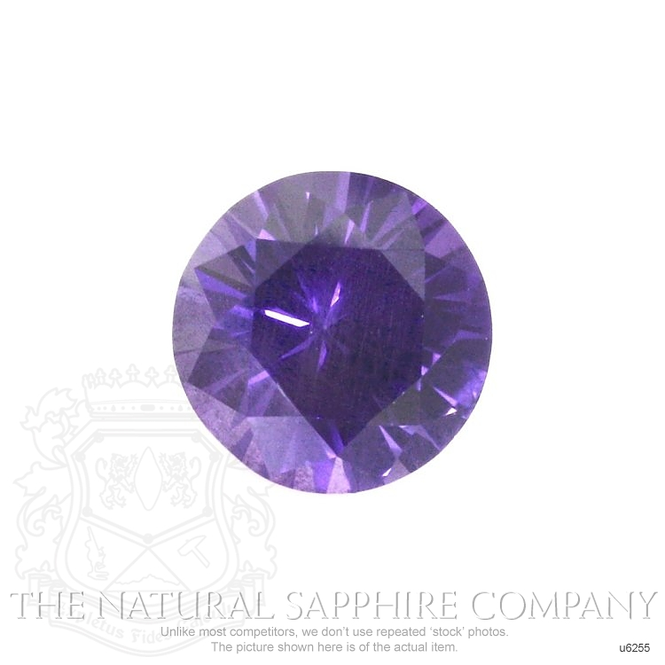 Natural Untreated Purple Sapphire U6255 Image