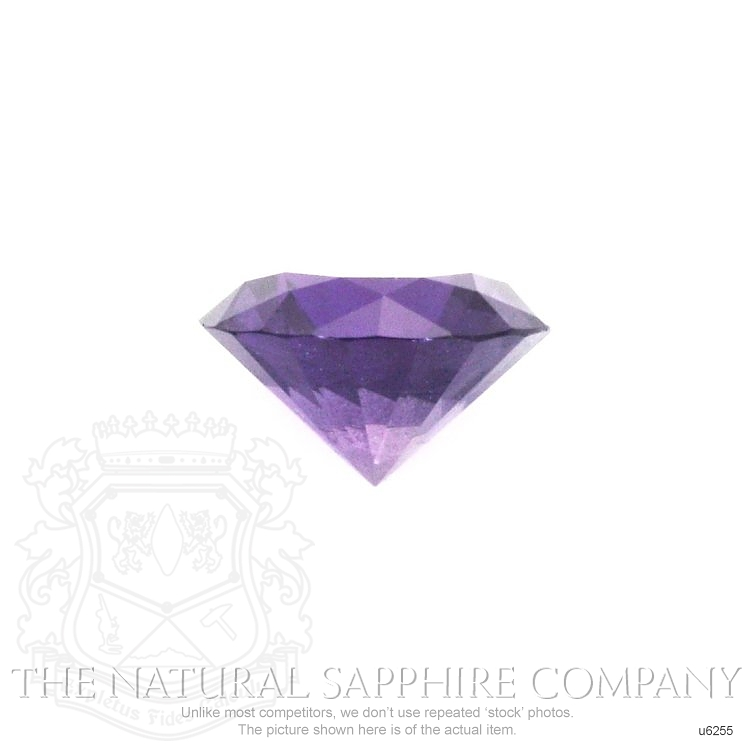 Natural Untreated Purple Sapphire U6255 Image 2