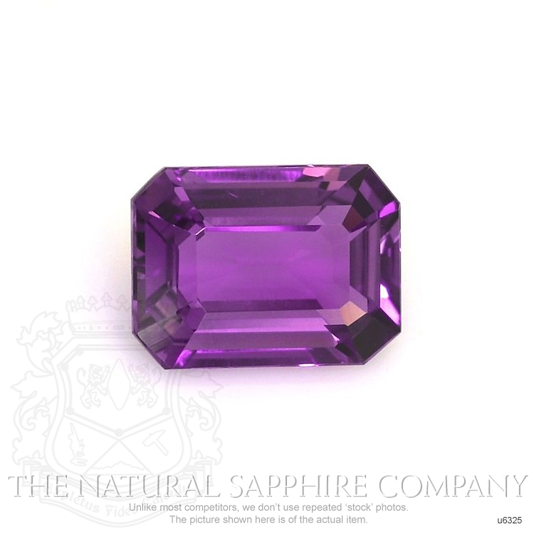 Natural Untreated Purple Sapphire U6325 Image