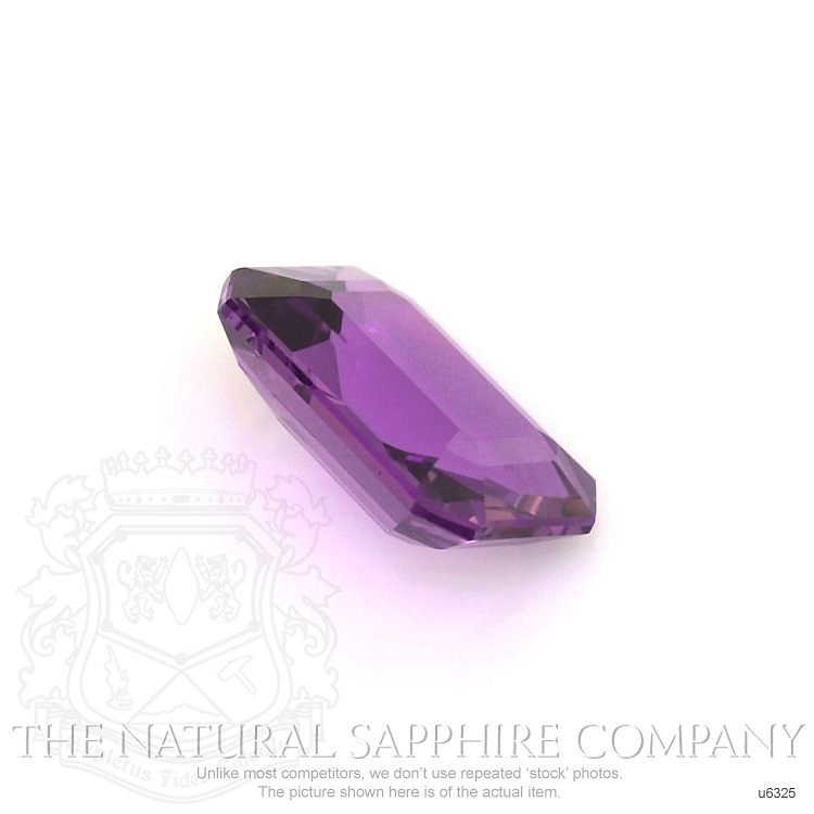 Natural Untreated Purple Sapphire U6325 Image 3