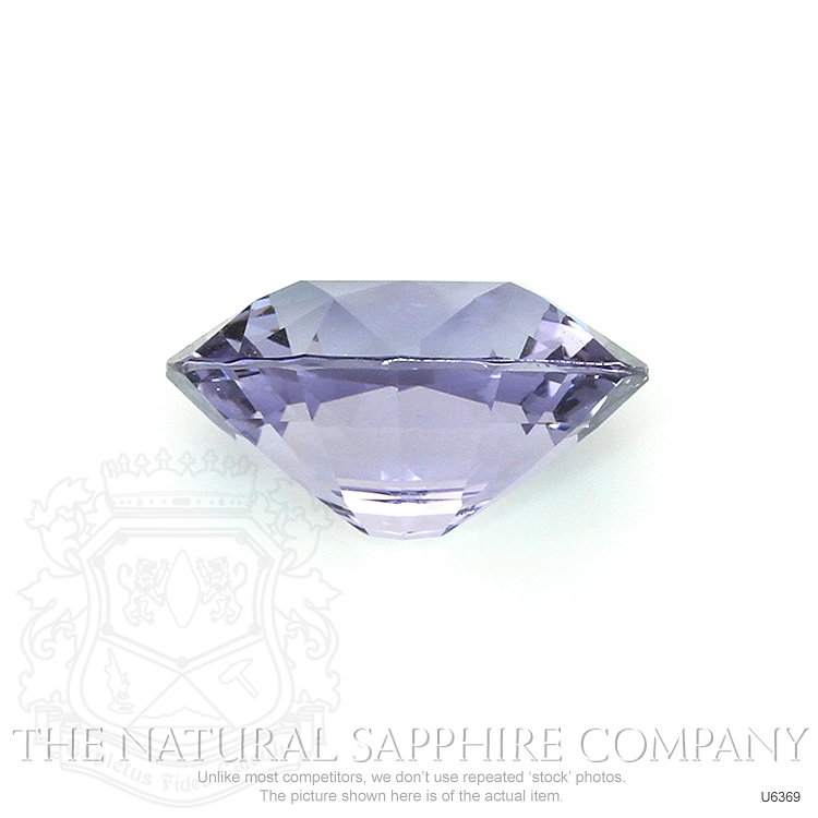 Natural Untreated Purple Sapphire U6369 Image 2